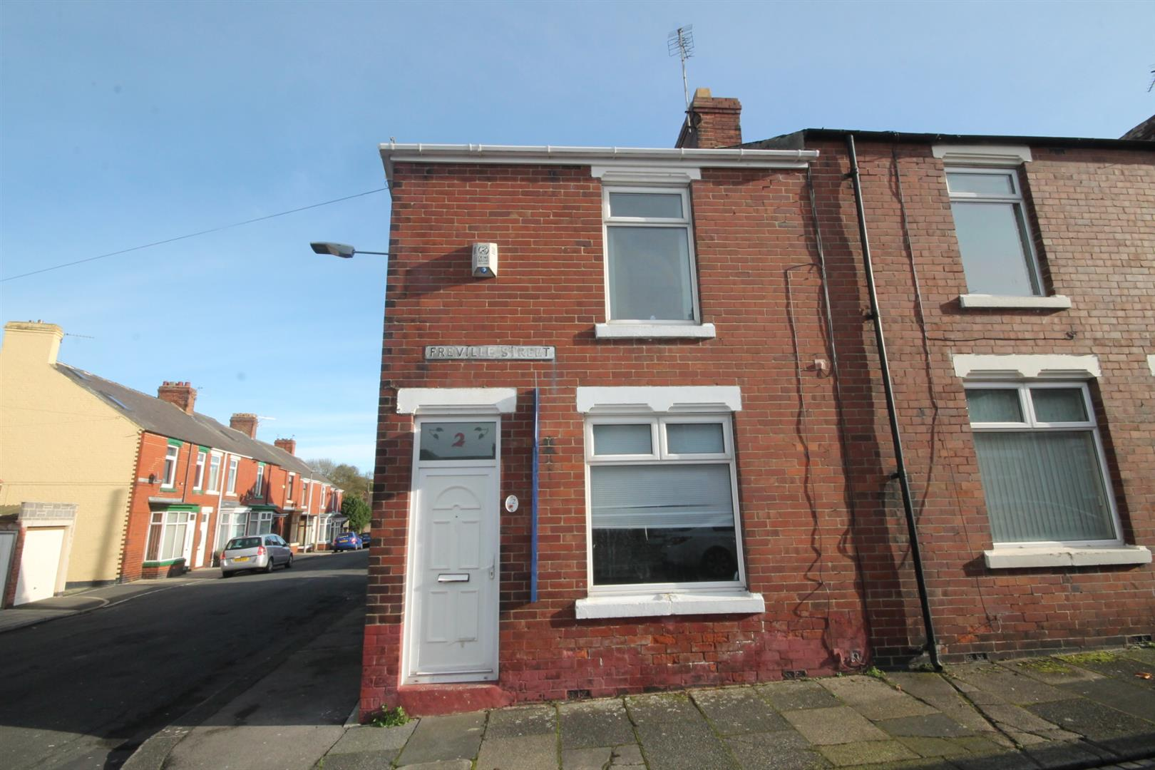 2 Bedrooms End Of Terrace House for sale in Freville Street, Shildon